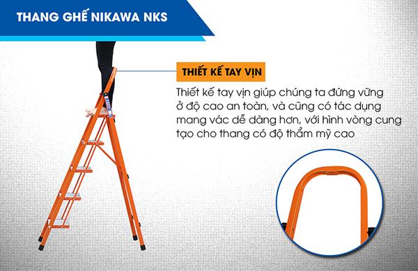 Thang ghế 5 bậc Nikawa NKS-05
