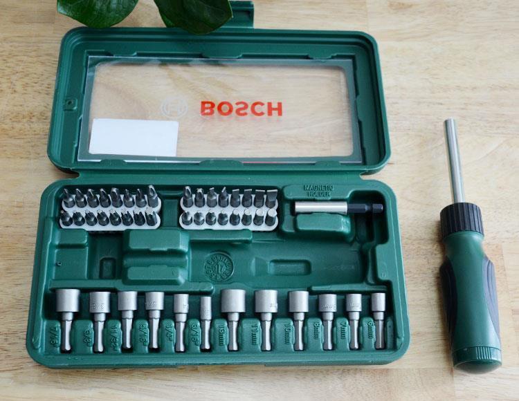 Bộ vặn vít đa năng Bosch 46 chi tiết 2607019504