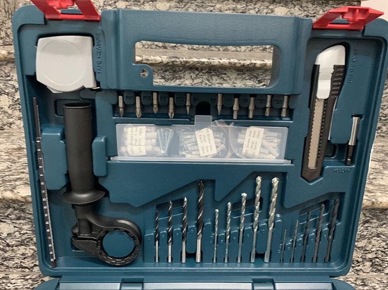 Bộ máy khoan động lực Bosch GSB 13 RE SET 100 món