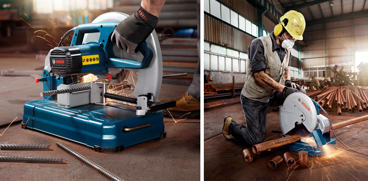 Khám phá những ưu điểm của máy cắt sắt Bosch 350