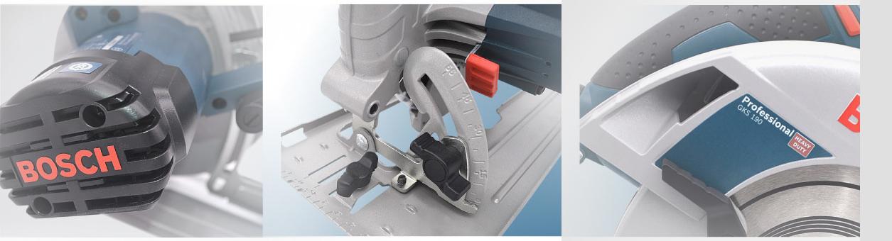 Máy cưa gỗ cầm tay Bosch GKS 190 nâng cao năng suất lao động