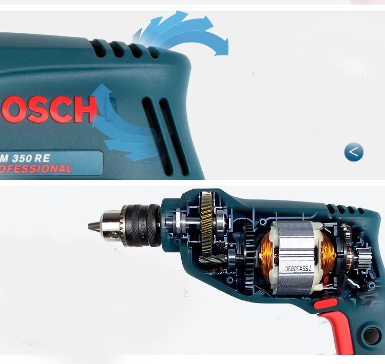 Soi điểm hấp dẫn của máy khoan Bosch GBM 350 RE Professional