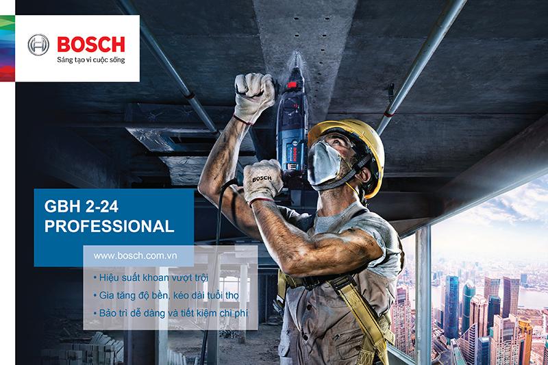 Máy khoan búa 790W Bosch GBH 2-24 RE
