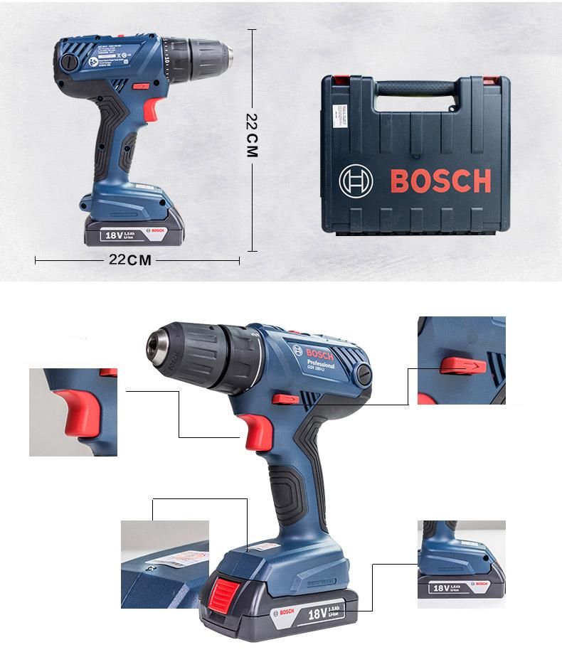 Máy khoan vặn vít dùng pin Bosch GSR 180-LI