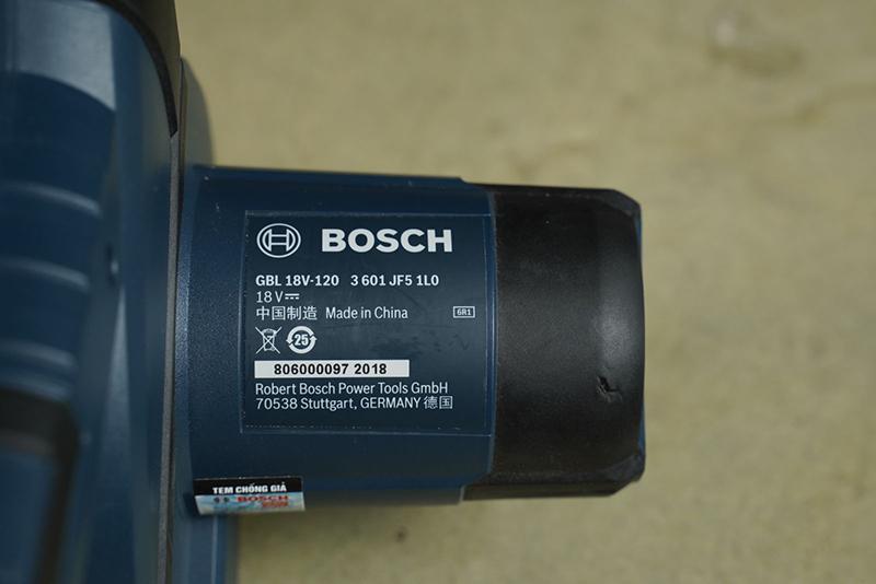 Máy bụi dùng pin Bosch GBL 18V-120 (Solo)