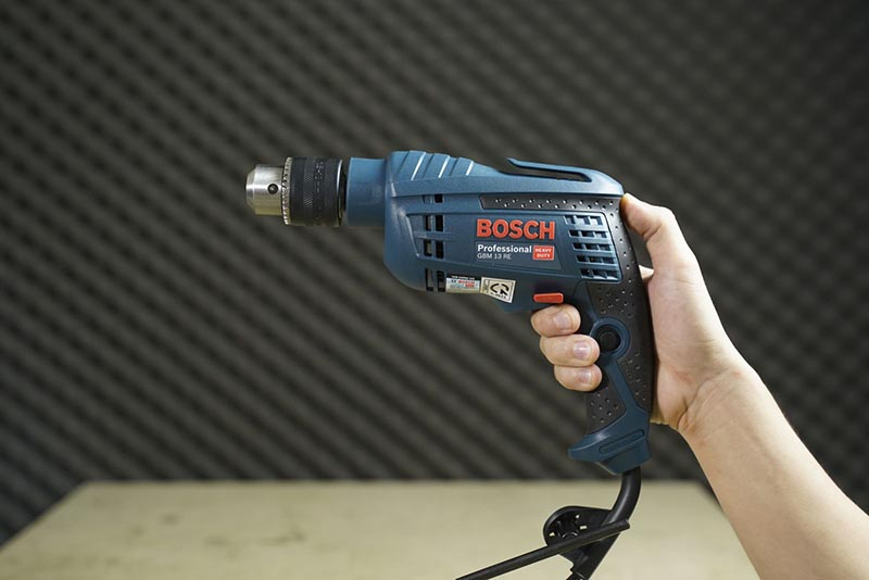 Máy Khoan sắt Bosch GBM 13RE 600W