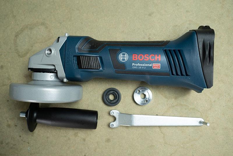 Máy mài dùng Pin Bosch GWS 18V-LI (Solo)