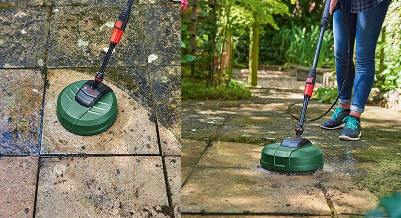 Phụ kiện chà rửa sân Aquasurf Bosch F016800486 (mới)