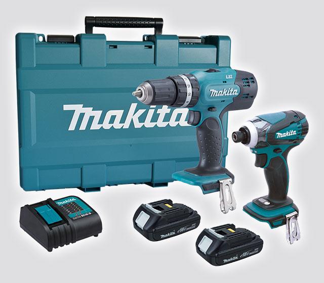 Bộ máy khoan bắt vít dùng Pin Makita DLX2022