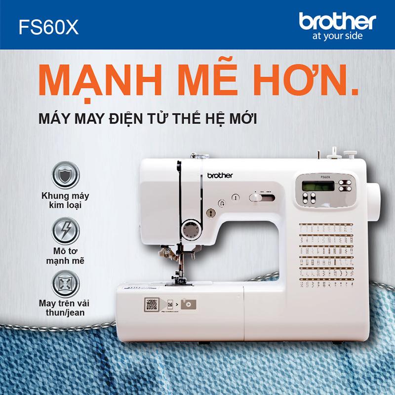 Máy May Điện Tử Brother FS60X