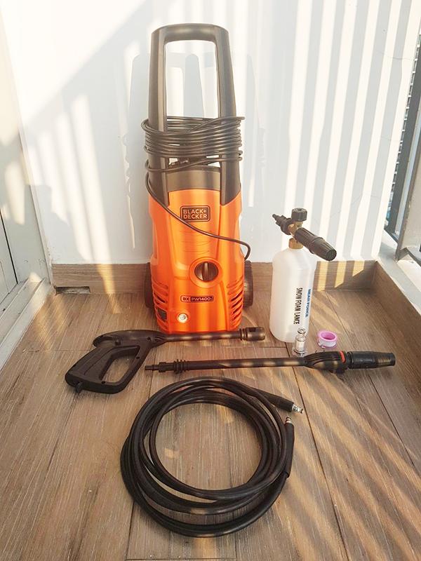 Máy xịt rửa cao áp Black&Decker PW1400S
