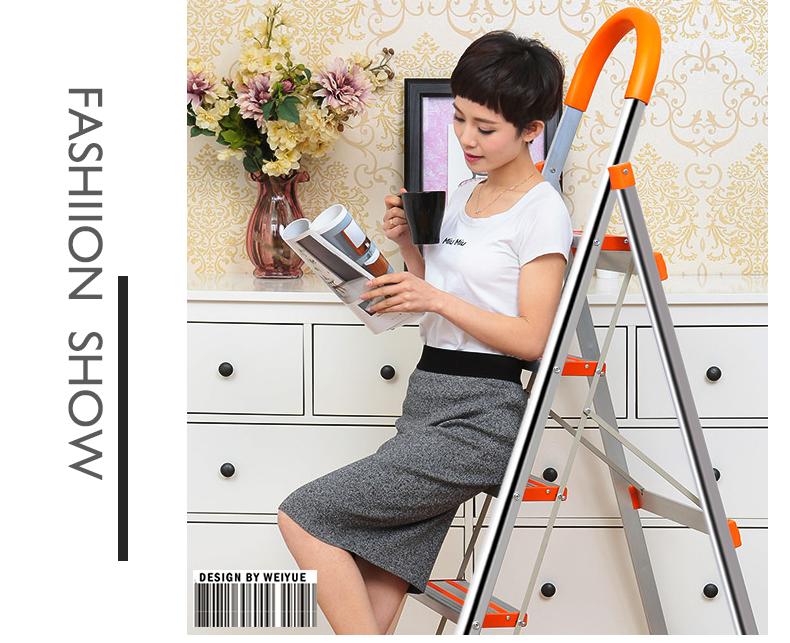 Thang nhôm ghế 5 bậc DIY TLN 05