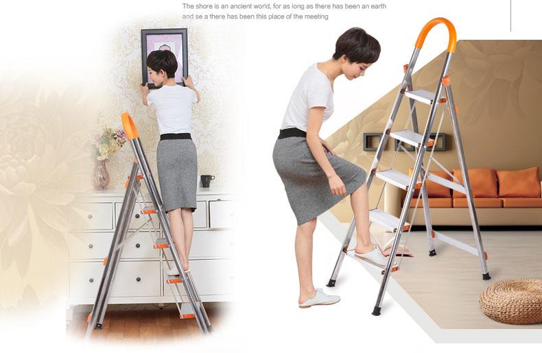 Thang nhôm ghế DIY TLN-06