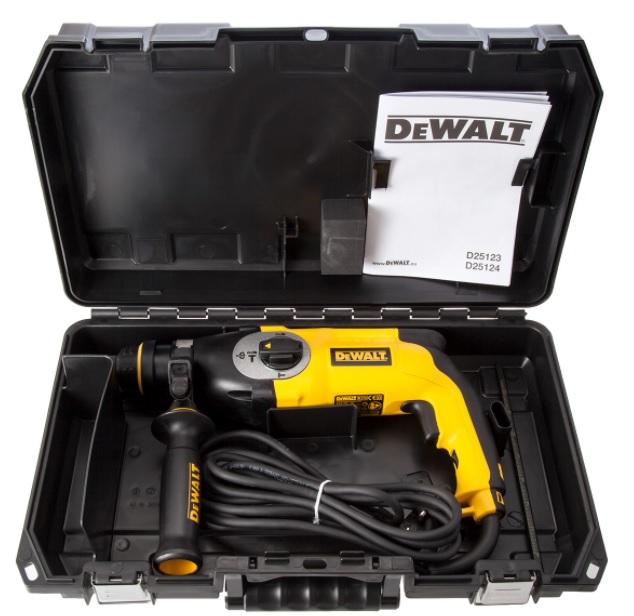 Máy khoan búa Dewalt D25132K-B1