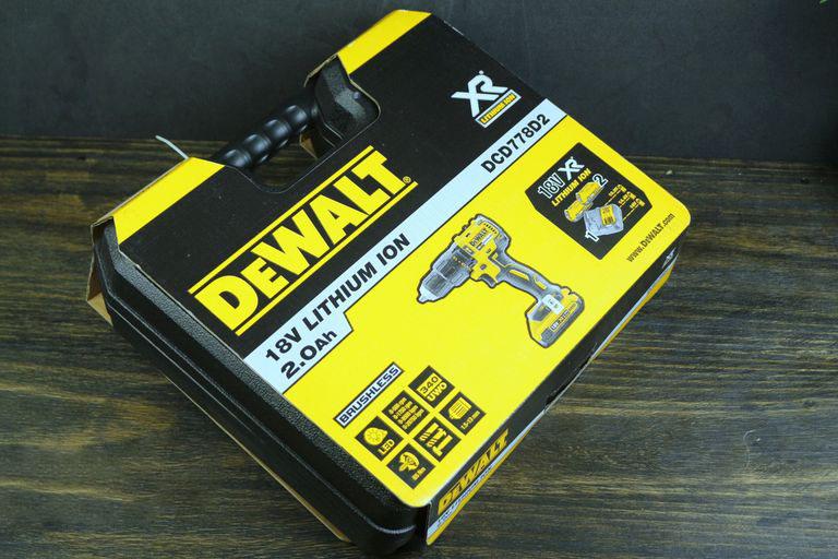 Máy khoan động lực pin Dewalt DCD778D2-B1