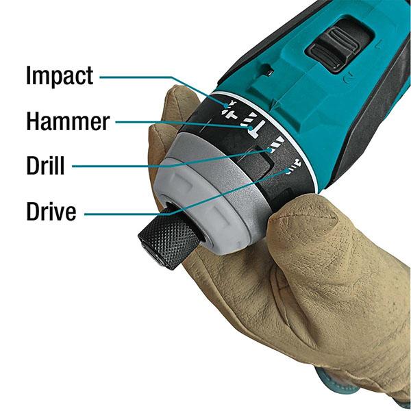 Máy vặn vít cầm tay dùng pin Makita DTP141Z