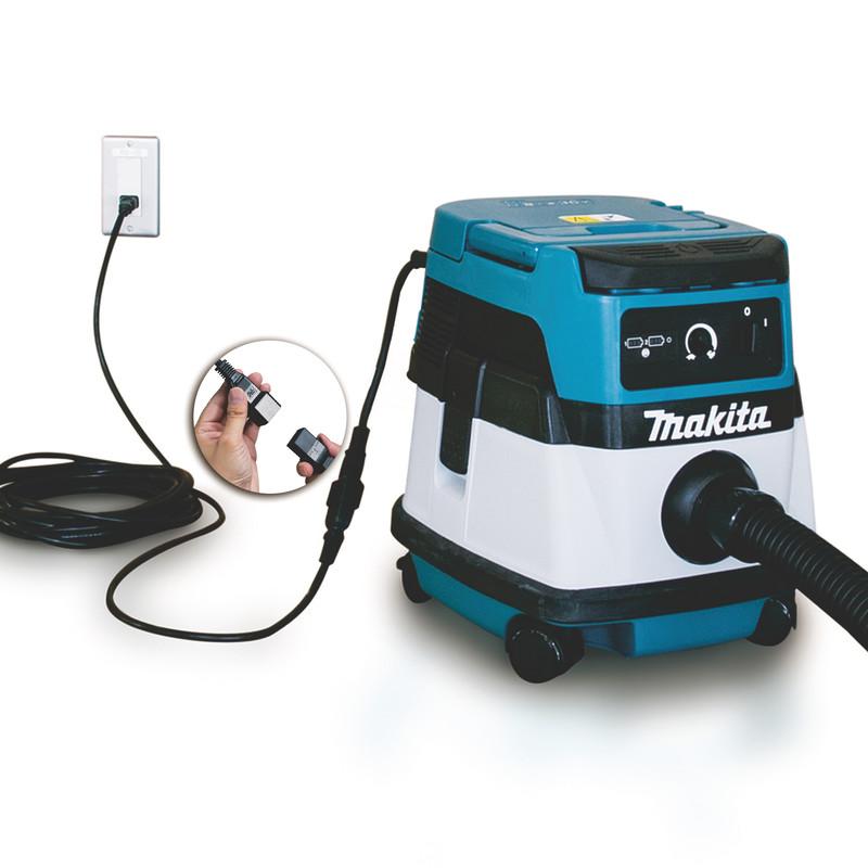 Máy hút bụi dùng điện và pin Makita DVC861LZ