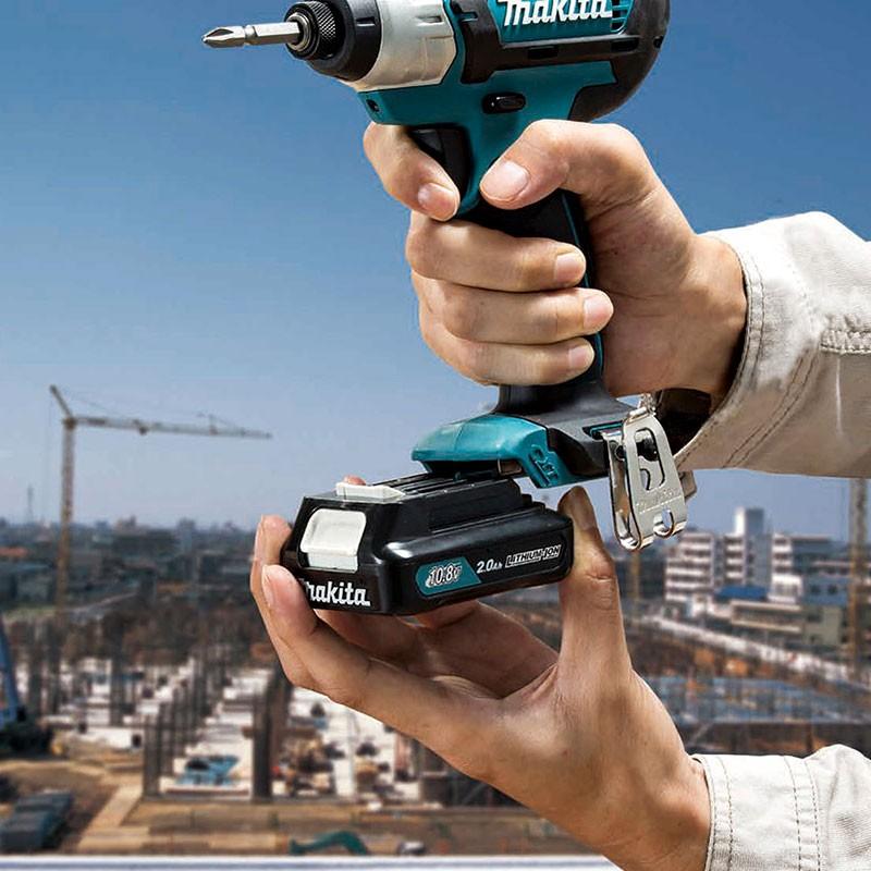 Máy khoan búa, vặn vít dùng pin 12V Makita HP331DZ