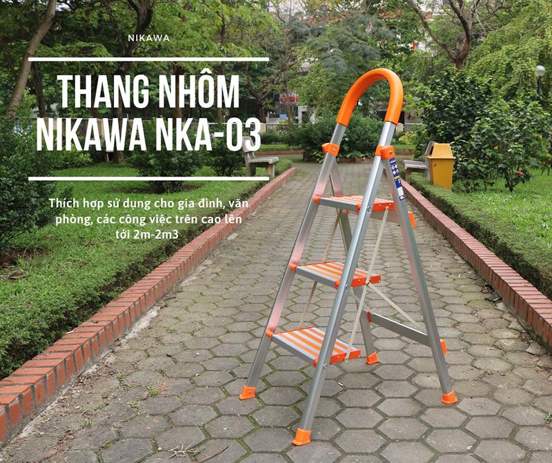 Thang nhôm ghế Nikawa NKA-03