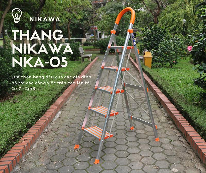 Thang nhôm ghế Nikawa NKA-05