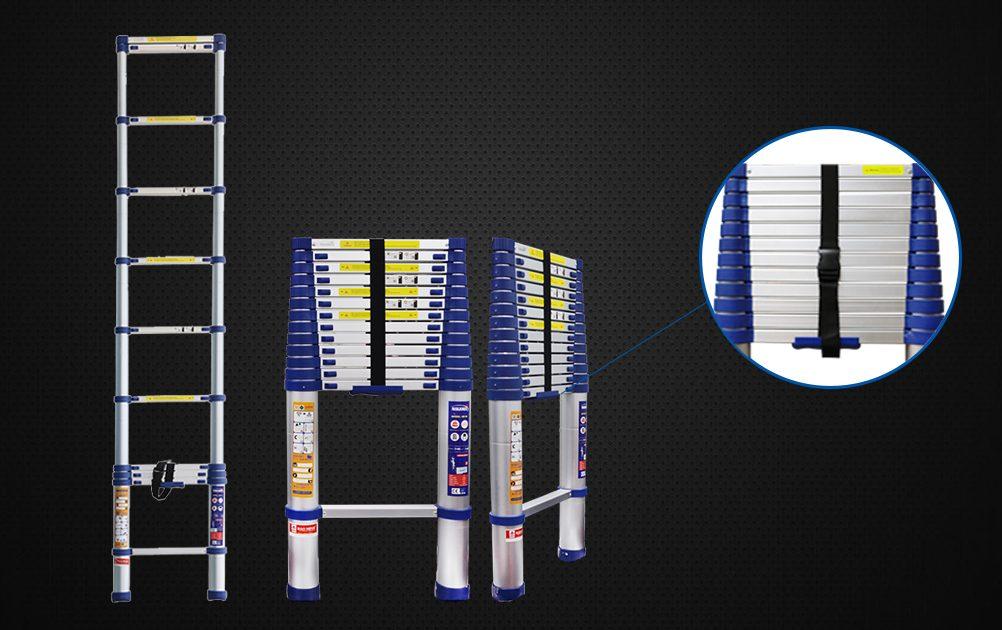 Bí quyết sử dụng thang nhôm rút đơn Nikawa an toàn trong dịp Tết Kỷ Hợi, khám phá ngay