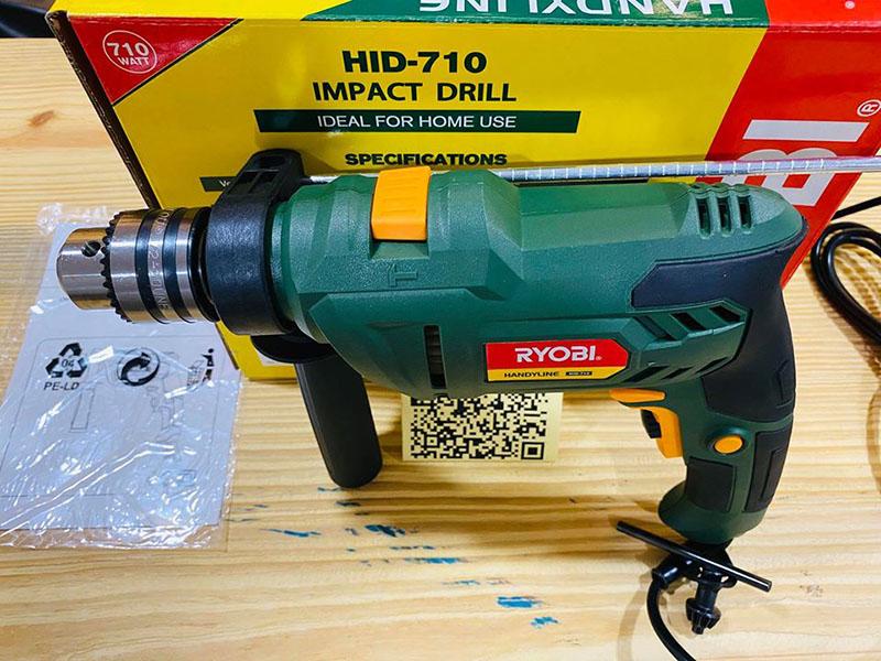 Máy khoan động lực Ryobi HID-710