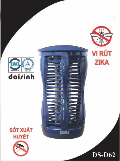 Bắt muỗi thông minh và tiết kiệm với đèn diệt côn trùng DS-D62