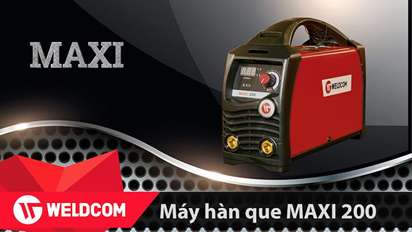 Máy hàn que dùng điện Weldcom Maxi 200