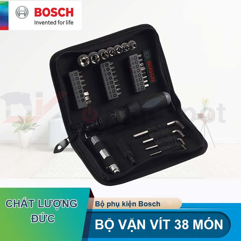 Bộ vặn vít đa năng Bosch 38 chi tiết 2607019506