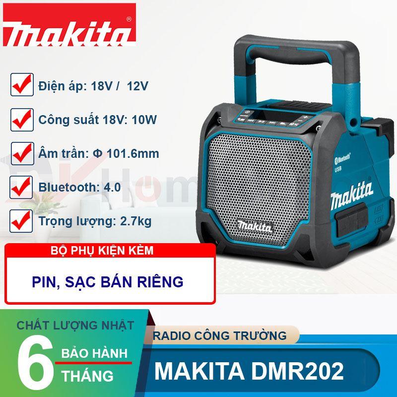Loa công tường dùng pin và điện Makita DMR202