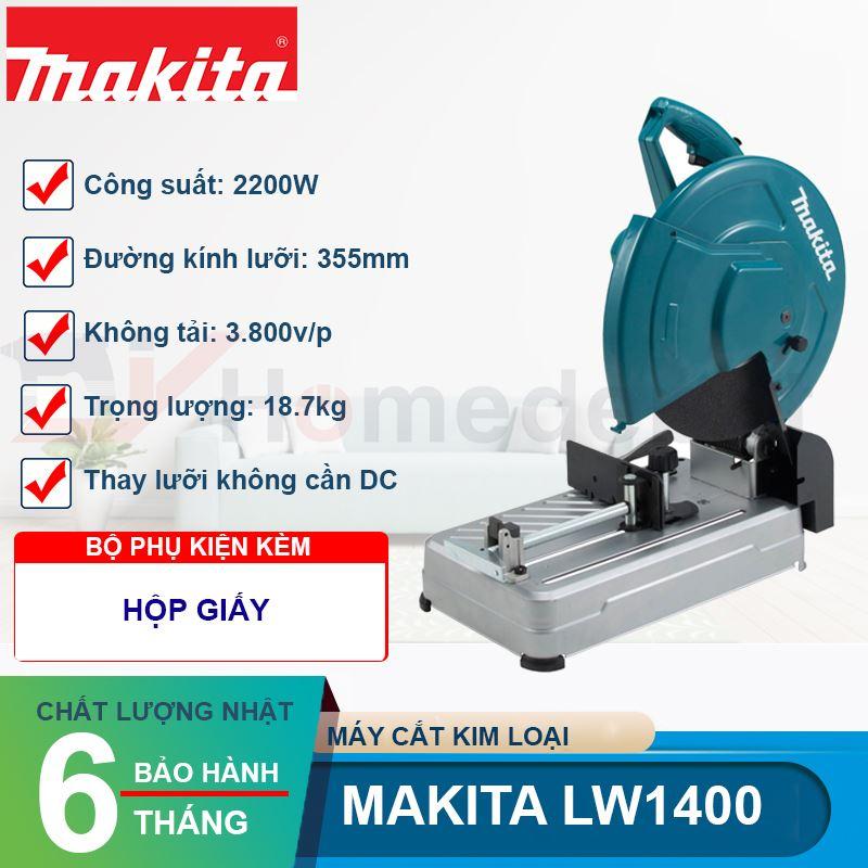 Máy cắt sắt Makita LW1400 2200W
