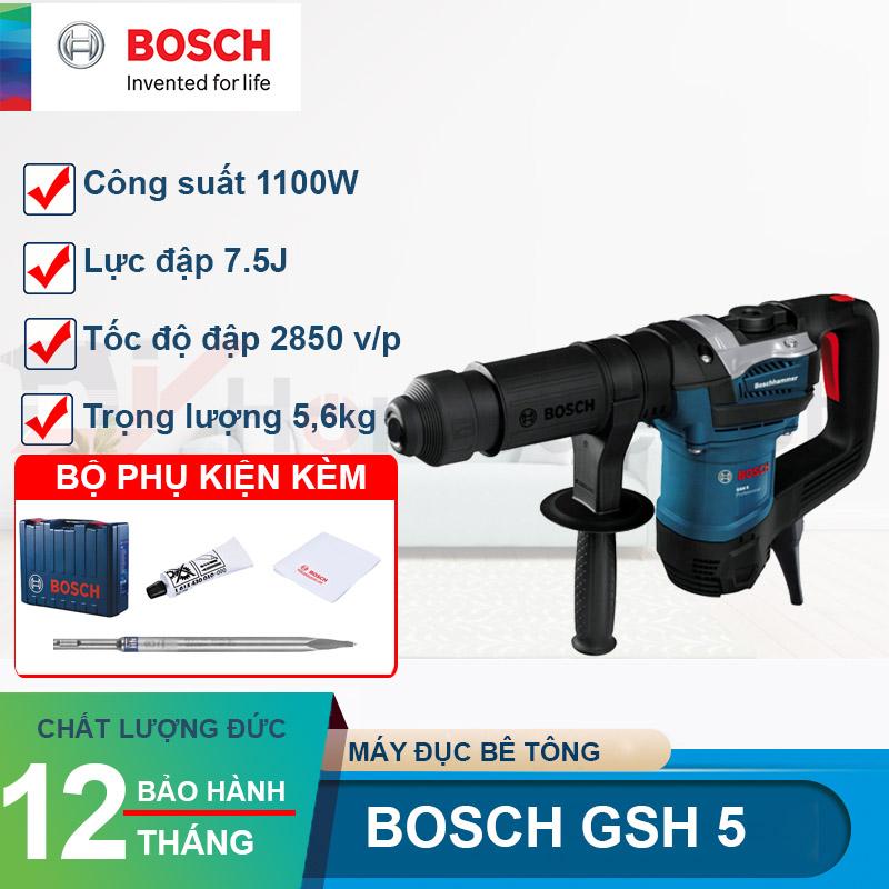 Máy đục bê tông Bosch GSH 5 1100W