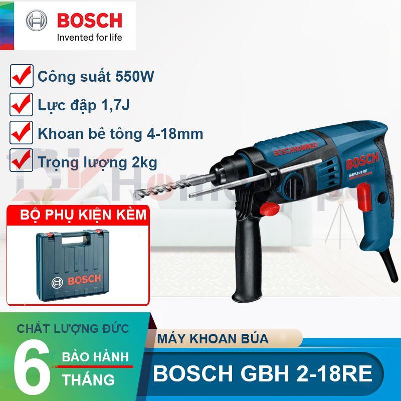 Máy khoan bê tông Bosch GBH 2-18 RE 550W