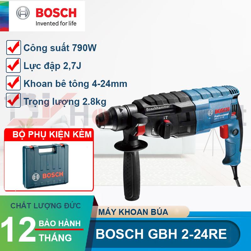 Máy khoan bê tông Bosch GBH 2-24 RE 790W