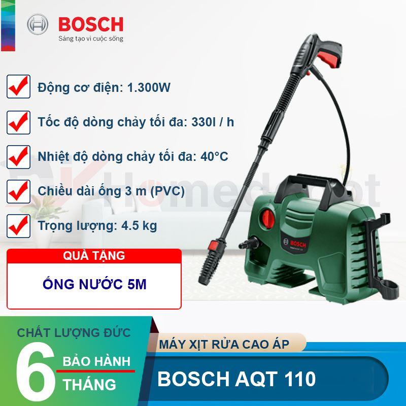 Máy xịt rửa cao áp Bosch AQT 110