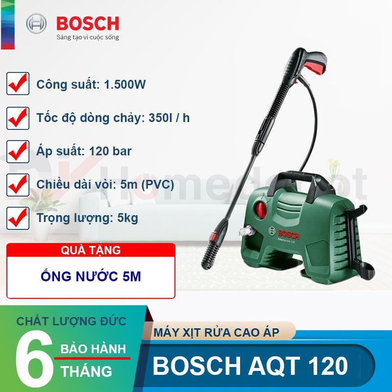 Máy xịt rửa cao áp Bosch AQT 120