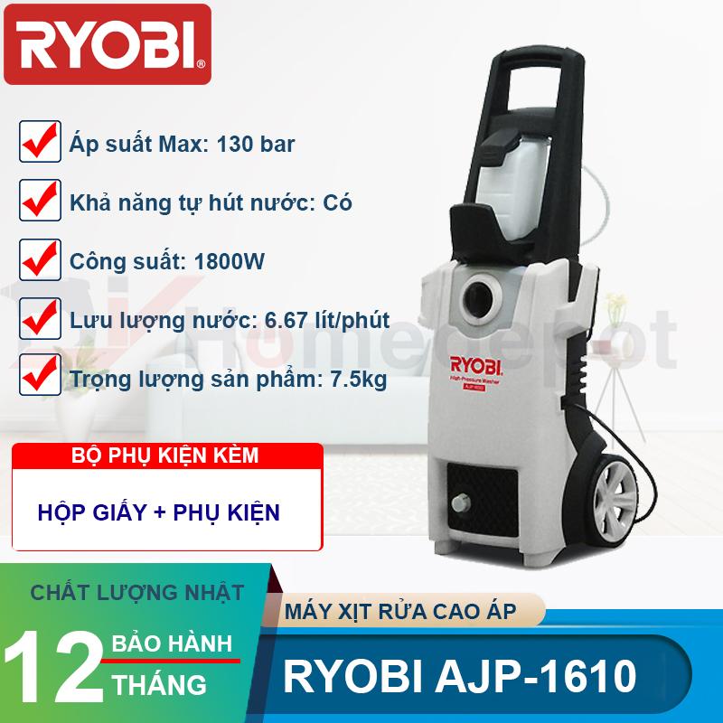 Máy xịt rửa cao áp Ryobi AJP-1610