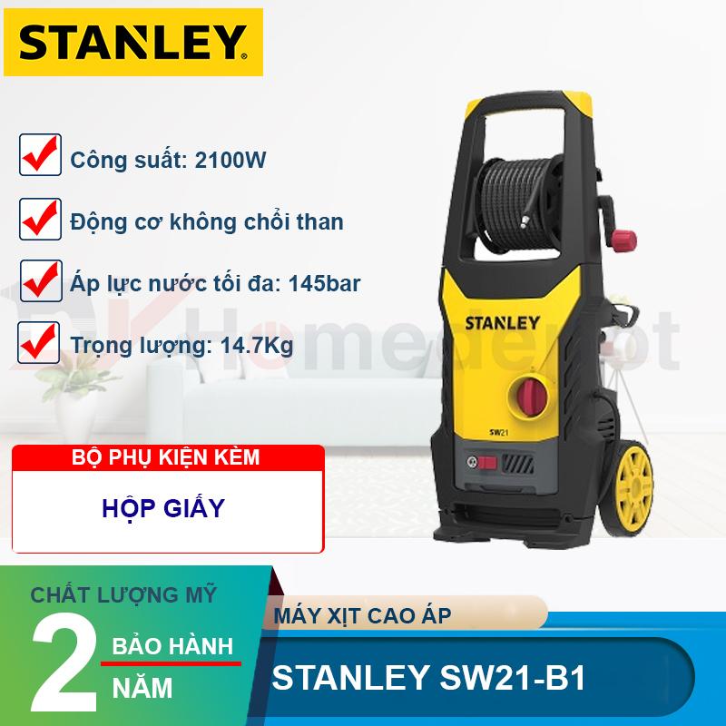Máy xịt rửa cao áp Stanley SW21-B1