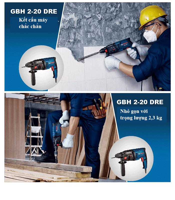 Cách chọn máy khoan bê tông dùng hiệu quả