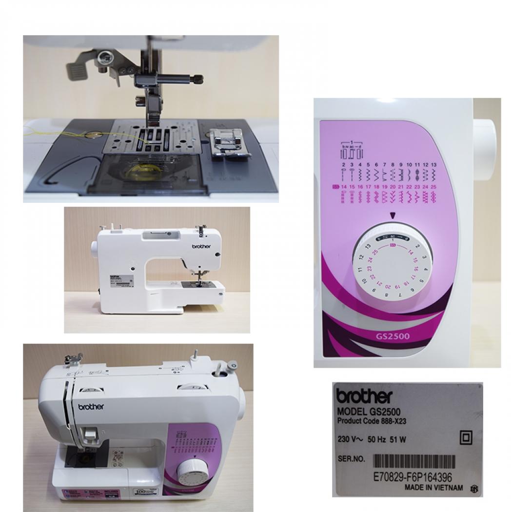 Máy may điện tử Brother GS2500