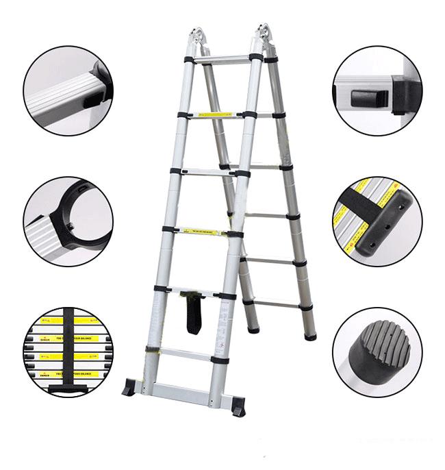 Hướng dẫn sửa thang nhôm rút bị lỗi đơn giản ngay tại nhà