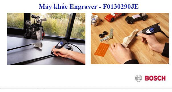 Bạn biết gì về máy chạm khắc gỗ cầm tay Engraver - F0130290JE?