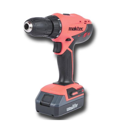 Máy khoan vặn vít chạy pin 18V Maktec MT071E