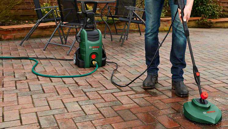 Phụ kiện chà rửa sân Bosch F016800357